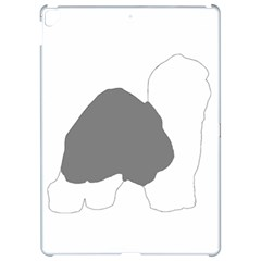 Old English Sheepdog Silo Color Apple iPad Pro 12.9   Hardshell Case