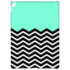 Blue Chevron Apple iPad Pro 12.9   Hardshell Case