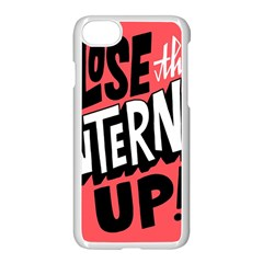 Closethe Internet Up Apple Iphone 7 Seamless Case (white)