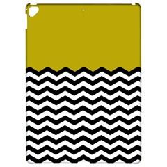 Colorblock Chevron Pattern Mustard Apple iPad Pro 12.9   Hardshell Case