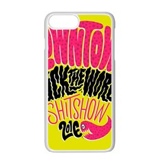 Clowntown Apple Iphone 7 Plus White Seamless Case