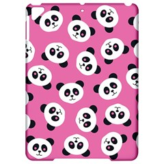 Cute Panda Pink Apple Ipad Pro 9 7   Hardshell Case
