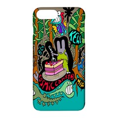 Cosmic Candy Monster Apple Iphone 7 Plus Hardshell Case