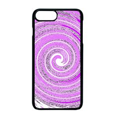 Digital Purple Party Pattern Apple iPhone 7 Plus Seamless Case (Black)