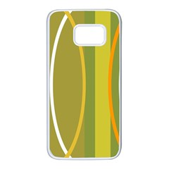 Graphic Elements Large Landscape Samsung Galaxy S7 White Seamless Case