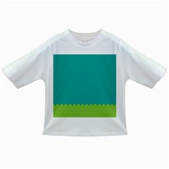 Green Blue Infant/toddler T Shirts