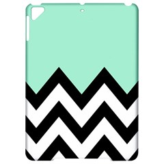 Mint Green Chevron Apple iPad Pro 9.7   Hardshell Case