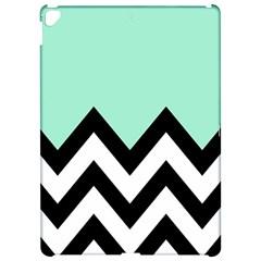 Mint Green Chevron Apple iPad Pro 12.9   Hardshell Case