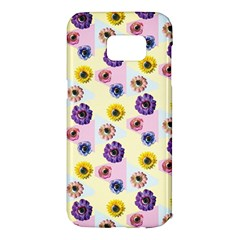 Monster Eye Flower Samsung Galaxy S7 Edge Hardshell Case