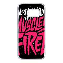 Muscles Fired Samsung Galaxy S7 White Seamless Case