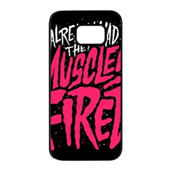 Muscles Fired Samsung Galaxy S7 edge Black Seamless Case