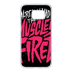 Muscles Fired Samsung Galaxy S7 Edge White Seamless Case