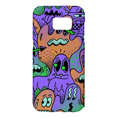 Monster Alien Ghost Samsung Galaxy S7 Edge Hardshell Case