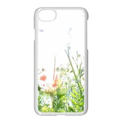 Carrot Flowers Apple Iphone 7 Seamless Case (white)