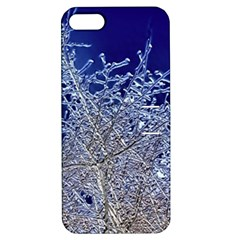 Crystalline Branches Apple Iphone 5 Hardshell Case With Stand