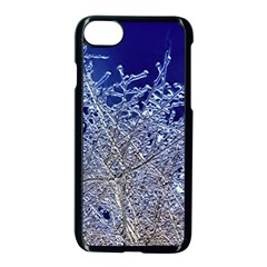 Crystalline Branches Apple Iphone 7 Seamless Case (black)