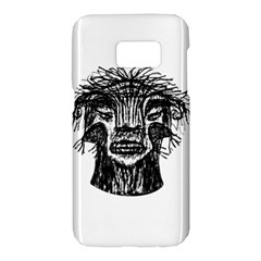 Fantasy Monster Head Drawing Samsung Galaxy S7 Hardshell Case