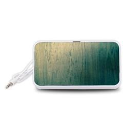 Woodscape  Portable Speaker (White)