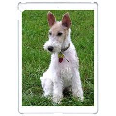 Wire Fox Terrier Sitting Apple iPad Pro 12.9   Hardshell Case