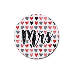 Love Mrs Drink Coaster (round)