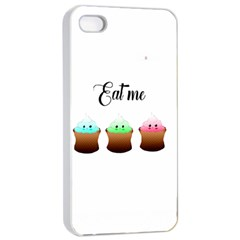 Eat Me Cupcakes Apple iPhone 4/4s Seamless Case (White)