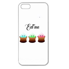 Eat Me Cupcakes Apple Seamless iPhone 5 Case (Clear)