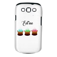 Eat Me Cupcakes Samsung Galaxy S III Classic Hardshell Case (PC+Silicone)