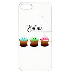 Eat Me Cupcakes Apple iPhone 5 Hardshell Case with Stand