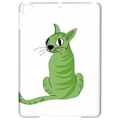 Green cat Apple iPad Pro 9.7   Hardshell Case