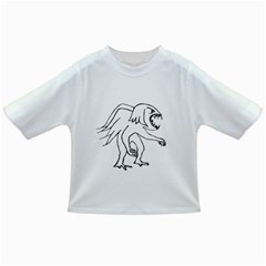 Monster Bird Drawing Infant/Toddler T-Shirts