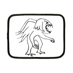 Monster Bird Drawing Netbook Case (Small)