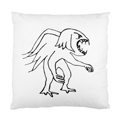 Monster Bird Drawing Standard Cushion Case (One Side)