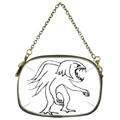 Monster Bird Drawing Chain Purses (Two Sides)