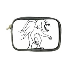 Monster Bird Drawing Coin Purse