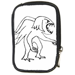 Monster Bird Drawing Compact Camera Cases