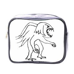 Monster Bird Drawing Mini Toiletries Bags