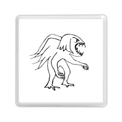 Monster Bird Drawing Memory Card Reader (Square)