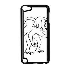 Monster Bird Drawing Apple iPod Touch 5 Case (Black)