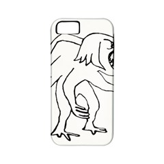 Monster Bird Drawing Apple iPhone 5 Classic Hardshell Case (PC+Silicone)