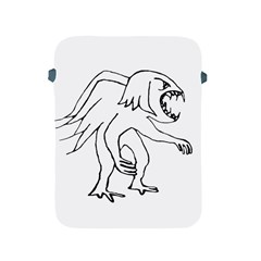 Monster Bird Drawing Apple iPad 2/3/4 Protective Soft Cases