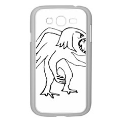 Monster Bird Drawing Samsung Galaxy Grand DUOS I9082 Case (White)