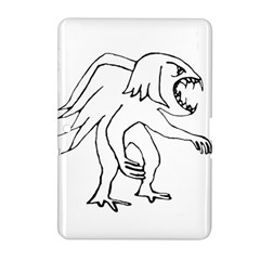 Monster Bird Drawing Samsung Galaxy Tab 2 (10.1 ) P5100 Hardshell Case