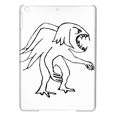 Monster Bird Drawing iPad Air Hardshell Cases