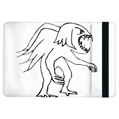 Monster Bird Drawing iPad Air Flip