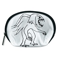 Monster Bird Drawing Accessory Pouches (Medium)