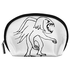 Monster Bird Drawing Accessory Pouches (Large)