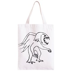 Monster Bird Drawing Classic Light Tote Bag