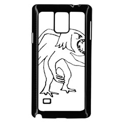Monster Bird Drawing Samsung Galaxy Note 4 Case (Black)