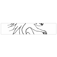 Monster Bird Drawing Flano Scarf (Small)