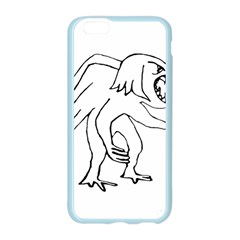 Monster Bird Drawing Apple Seamless iPhone 6/6S Case (Color)